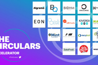The Circulars Accelerator 2021 Cohorts with BanQu listed among the members
