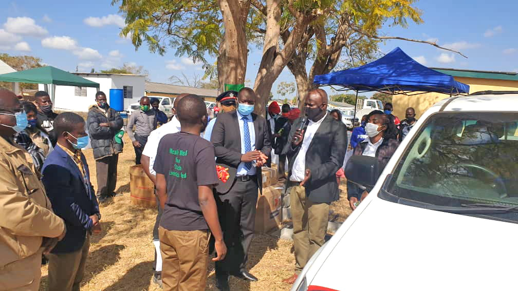 The cassava buying launch in Luapula Province, Zambia